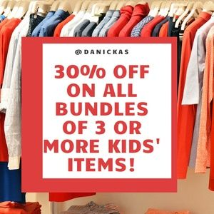 Other - 30% off on all Bundles of 3 or more Kids' Items